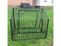 Travel dog crates (2) for sale