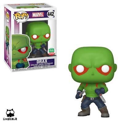 Funko POP! Marvel: Guardianes de la Galaxia: Drax Exclusivo