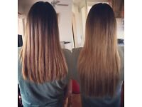 Extensions by Georgie. Fully qualified inhair extension technician.