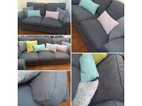 3 seats sofa and 2 seats sofa