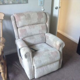 Electric rise and recline chair with remote paid £750 in 2016