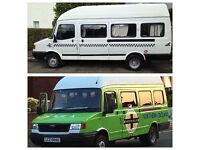 LDV - Minibus/ Campervan/ Van. Former Minibus used as a Campervan