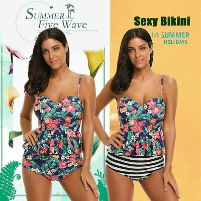 1x Sexy Women Split Sling Swimsuit Fashion Girls Bikini Swimwear Bathing Suit L