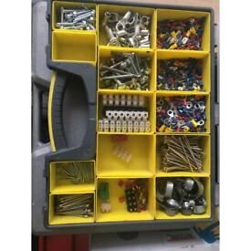 Box full of electric connectors