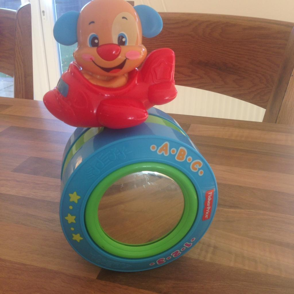 Fisherprice laugh and learn