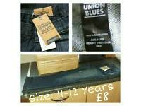 Boys Jeans - 11-12 Years