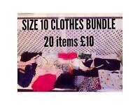 Ladies clothing Bundle Size 10