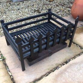 Heavy Steel Fire Basket