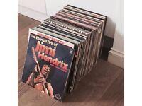"""Job Lot of 99 12"""" Vinyl Records inc. T.Rex, Hendrix, The Who, Elton John"""