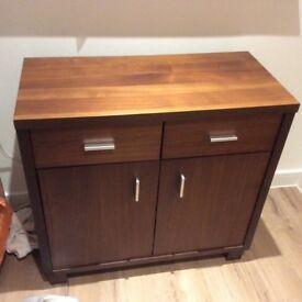 Small brown sideboard in very good condition