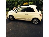 White Fiat 500 For Sale