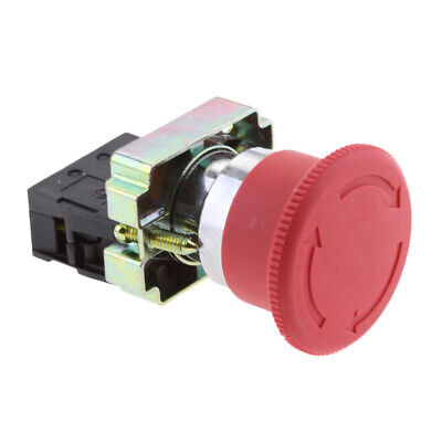 Emergency Stop Button Twist Emergency E-stop Release Latching Rotary Red