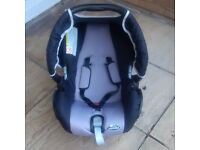 Stage one 'Babideal' car seat as new