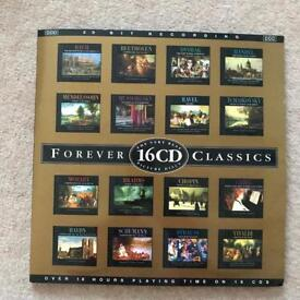 16 CDs classical music like new