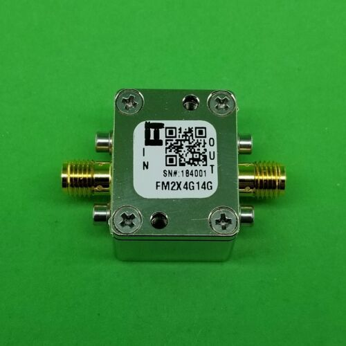 Passive Frequency Multiplier X2 (OUTPUT 4 GHz to 14 GHz) FM2X4G14G