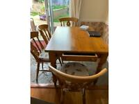 Dining table @ chairs