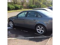 Audi A4 1.9tdi 52 plate with low mileage
