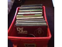 185 Hip Hop & RnB DJ records. Job lot!