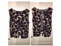 Top with Open Back & Bows