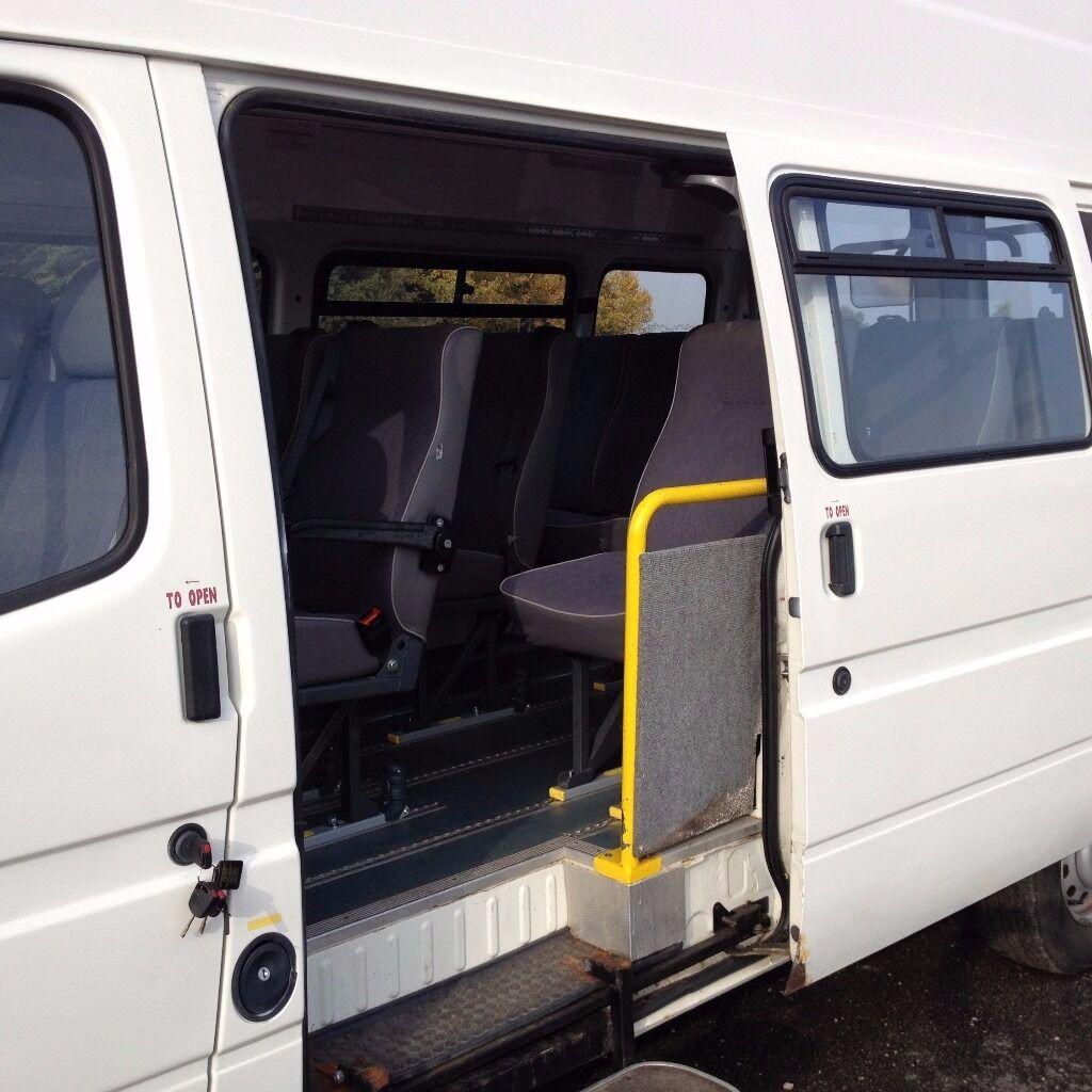 Ford Transit 190 Lwb Minibus 1998cc 13 Seater Plus Driver