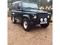 Land Rover Defender 90 2013 Aintree Green 19000 miles. Like new. Cloth seats heated.