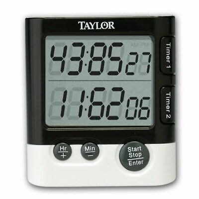 Taylor 5828 Dual Event Digital Timer and Clock - Event Digital Timer