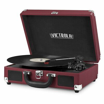 Victrola VSC-550BT-P3 Portable 3-Speed Suitcase Record Playe