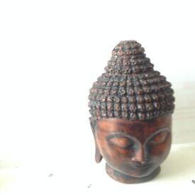 Vintage Buddha Head Ornament