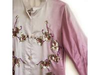 Asian Silk Long Shirt Dress / Shalwar Kameez / Indian / Pakistani