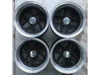 jbw Mamba Classic Mini 7 x 13 Alloy Wheels Rims Pick Up Van Cooper Alloys Minilite Revolution