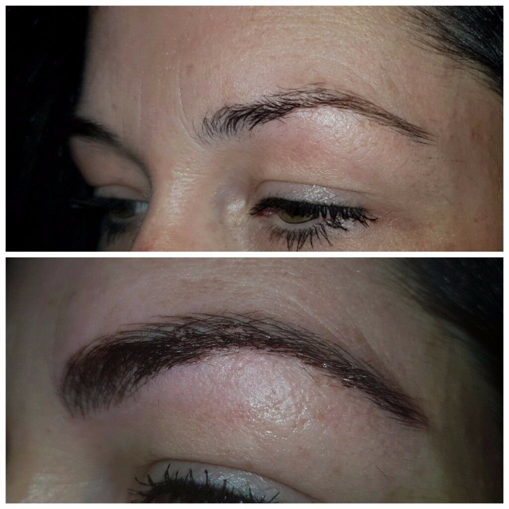 Microblading, permanent makeup and eyelash extensions