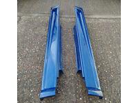 Genuine used BMW MINI pair of John Cooper Works Aero Side Skirts R50 52 R53.