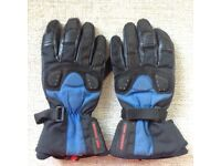 Assorted motorcycle gloves
