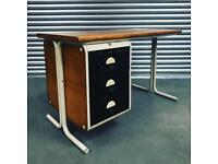 Retro Mid Century Modern French desk in great vintage condition