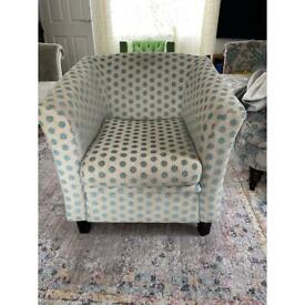 Harrogate Spot Chair (available 2)