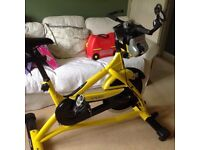 Trixter enabled spinning bike
