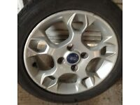 FORD ALLOY Wheel with Goodyear tyre