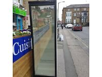Husky commercial glass door fridge in very good condition