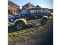 Mitsubishi pajero 2.8 manual