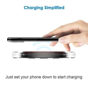 IMGadgets - universal wireless charger for all phones. This is a smart fast wireless charger for all kind of phones.
