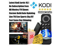 Amazon Fire TV Stick Fully Loaded Latest Kodi Jarvis16.1✓Live Sports✓HD Movies/TV Shows✓️Live TV✓️