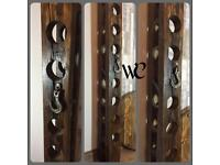Large Chunky Industrial Style Wine Rack