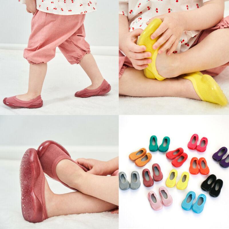 Newborn Unisex Baby Girl Boy Kid Soft Sole Rubber Shoes Sock