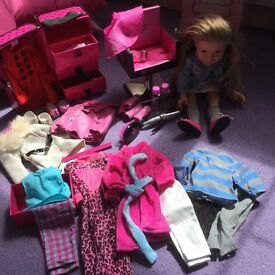 DESIGNER Friend Doll, outfits and accessories