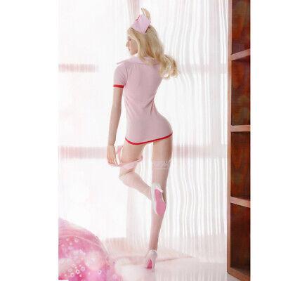 MagiDeal 1/6 Sexy Krankenschwester Uniform Set 12 Zoll Action Figuren Schuhe