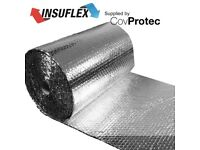 Reflective Foil Insulation Loft / Wall / Home / Shed/ Caravan Boat 5m2 0.50mx10m