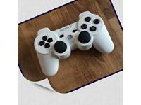 WHITE PS3 OFFICIAL LIMITED EDITION DUALSHOCK CONTROLLER PAD