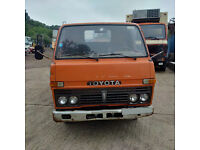 Left hand drive Toyota Dyna 300 / BU30 3.0 diesel 6 tyres 3.5 Ton truck.