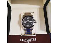 Longines hydroconquest watch.
