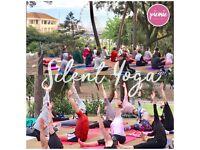 Outdoor Silent Yoga